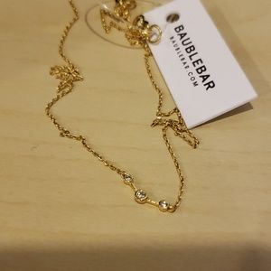 Baublebar gold toned necklace